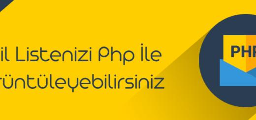 php mail listesi